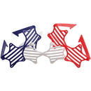 US TOY US42 Patriotic Star Shutter Toy Glasses