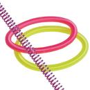 U.S. Toy VL187 Stretchy Coil Bracelets / 24-PC