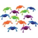 U.S. Toy VL71 Neon Transparent Toy Frogs-72 Pcs