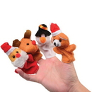 U.S. Toy XM313 Christmas Finger Puppets