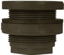 Inland Seas IS11804 PVC Bulkhead Tank Adapter, 1/2