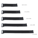 Aspire Wholesale Fastening Cable Ties-Wire Cord Straps and Reusable Hook Loop, Assorted 5 Sizes