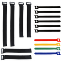 Aspire Multi-purpose Reusable Cable Ties Securing Straps, Assorted 14 Pack