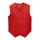 5 Packs Unisex Waiter Uniform Vest Bartender Waitress Botton Workwear with Pockets for Men Women