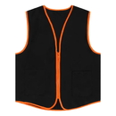 TOPTIE 50 PCS Wholesale Unisex Supermarket & Clerk Vest With Zipper Closure