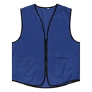 6 PCS Wholesale TopTie Supermarket Vest / Apron Zipper Vest For Clerk Uniform Vest