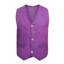 50 PCS Wholesale TopTie Button Vest Twill Volunteer Activity Vest, Waistcoat For Children