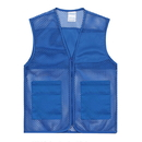 6 PCS Wholesale TOPTIE Adult Mesh Volunteer Vest Activity Team Supermarket Vest with Pocket