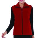 TopTie Women Fleece Vest Volunteer Activity Uniform Full Zipper Mountain Vest