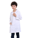 2 PCS Wholesale TopTie Kids Scrubs White Lab Coats for Scientists or Doctors