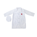 TOPTIE Kids Lab Coat Uniform, Doctor Role Play Costume