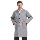 TOPTIE Unisex Classic Lab Coat, Lab Scrub