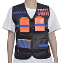 TOPTIE Tactical Vest Nerf Elite Kids Sniper Soldier Role Play Cosplay Costumes