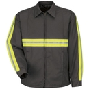 Red Kap JT50EC Enhanced Visibility Perma-Lined Panel Jacket