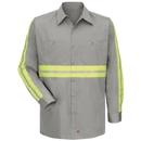Red Kap Enhanced Visibility Cotton Work Shirt - Sc30