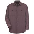 Red Kap Long Sleeve Durastripe Work Shirt - Sp14