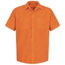 Red Kap SS24-1 Short Sleeve Enahanced Visibility Work Shirt