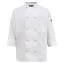 Red Kap 0401WH Women's Ten Pearl Button Chef Coat - White