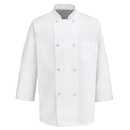 Chef Designs 0402WH 3/4-Sleeve Chef Coat - White