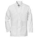 Chef Designs 4020WH Military Bus Coat - White