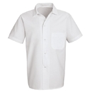 Chef Designs 5010WH Button-Front Cook Shirt - White