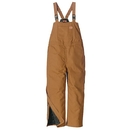 Red Kap BD30 Duck Insulated Bib Overall - 65/35 Polyester / Cotton Duck