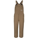 Bulwark Brown Duck Unlined Bib Overall