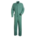 Bulwark CEW2VG Gripper-Front Coverall  - Visual Green