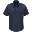 Workrite FSC6NV - Short-Sleeve Fire Chief Shirts With Working Epaule