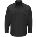 Workrite FSF4BK - Long-Sleeve Western Firefighter Shirt