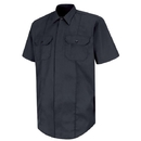 Horace Small HS1430 First Call Concealed Button-Front Short Sleeve Shirt - Dark Navy