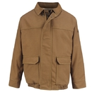 Bulwark JLB8BD Brown Duck Lined Bomber Jacket  - Brown Duck