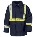 Bulwark JLPCNV Parka With Csa Compliant Reflective Striping  - Navy