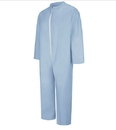 Bulwark KEE2SB Extend Fr Disposable Flame Resistant Coverall - Sky Blue