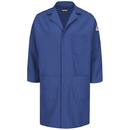 Bulwark KNL6RB Concealed Snap Front Lab Coat  Knl6 - Royal Blue