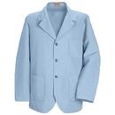 Red Kap KP10 Men's Lapel/Counter 3 Button Coat