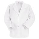 Red Kap KP16WH Men's Specialized Lapel/Counter Coat - White