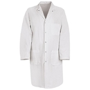 Red Kap KT18WH Gripper Front Butcher Coat - Twill - White