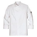 Chef Designs KT80WH Tunic Chef Coat - White