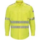 Bulwark QS40HV Iq Series&Reg; Endurance Hi-Vis Work Shirt Cat 2 Qs40Hv