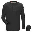 Bulwark Iq Series Long Sleeve Henley - Cat2 - Qt20
