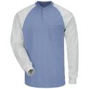 Bulwark SEL4 Excel Fr Ls Henley Tshirt