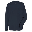 Bulwark SET2NV Excel Fr Ls T-Shirt - Navy