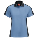 Red Kap SK53 Women's Short Sleeve Performance Knit Color-Block Polo - SK53