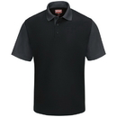 Red Kap SK56BC Men'S Short Sleeve Performance Knit&Reg; Color-Block Polo - Sk56