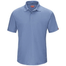 Red Kap SK74MB Men'S Performance Polyester Gripper-Front Knit Polo - Sk74