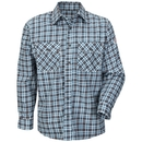 Bulwark Excel ComforTouch 88/12 Plaid Uniform Shirt - CAT 2 - SLD6