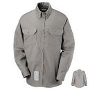 Bulwark SLU2GY Men'S 7 Oz. Dress Uniform Shirt - Cat 2 - Slu2