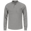 Bulwark SML2 Long Sleeve Tagless Henley Shirt