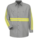 Red Kap SP14-2 Enhanced Visibility Industrial Work Shirt
